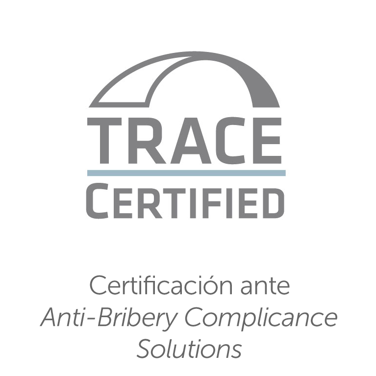 Certificación ante TRACE Anti-Bribery Compliance Solutions