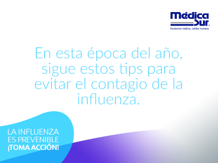 Sigue estos tips para evitar la influenza